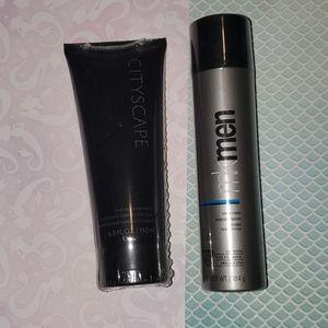 MkMen shave foam and shower gel